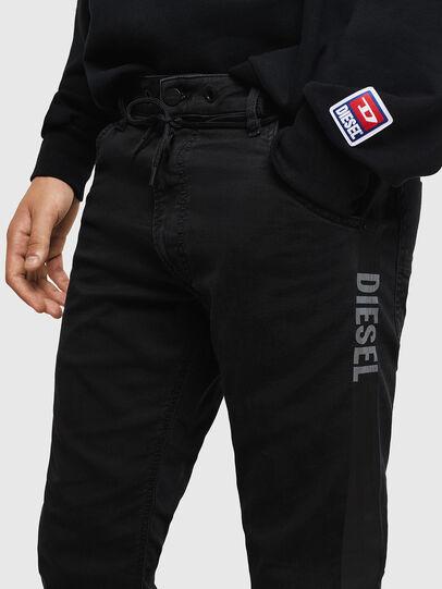 Diesel - Krooley JoggJeans 069JH, Black/Dark grey - Jeans - Image 3