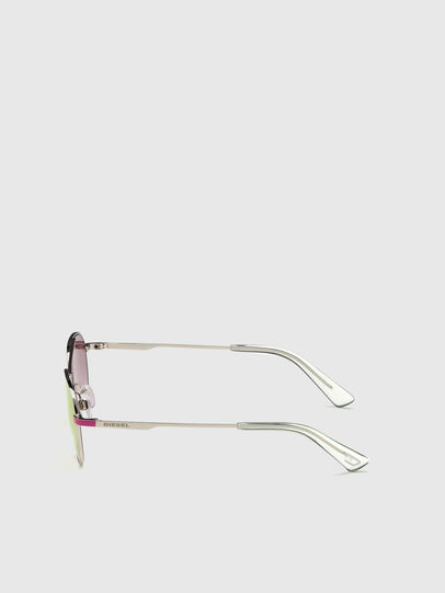 Diesel - DL0291, Pink/White - Kid Eyewear - Image 3