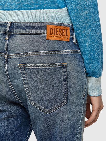 Diesel - Fayza 09A08, Medium blue - Jeans - Image 3