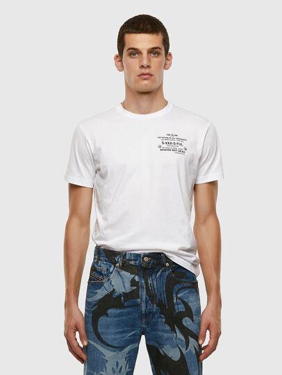 Diesel - T-DIEGOS-X44, White - T-Shirts - Image 5