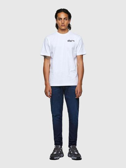 Diesel - T-JUST-B56, White - T-Shirts - Image 4