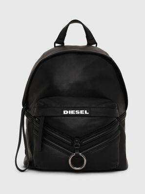 LE-ZIPPER BACKPACK, Black - Backpacks