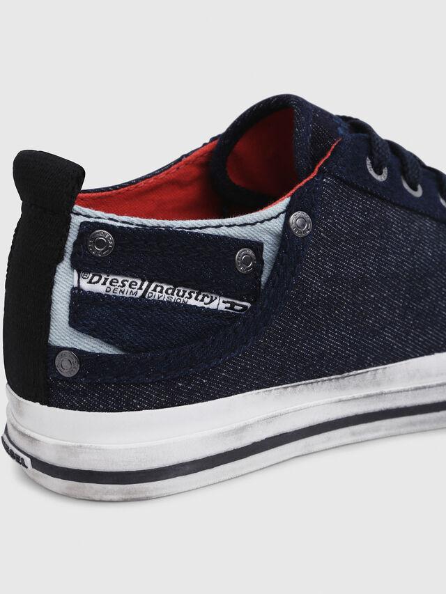 Diesel - EXPOSURE IV LOW  W, Dark Blue - Sneakers - Image 5