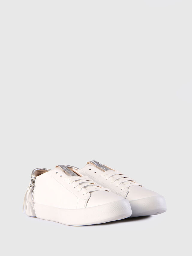 Diesel - S-NENTISH LC W, White - Sneakers - Image 3