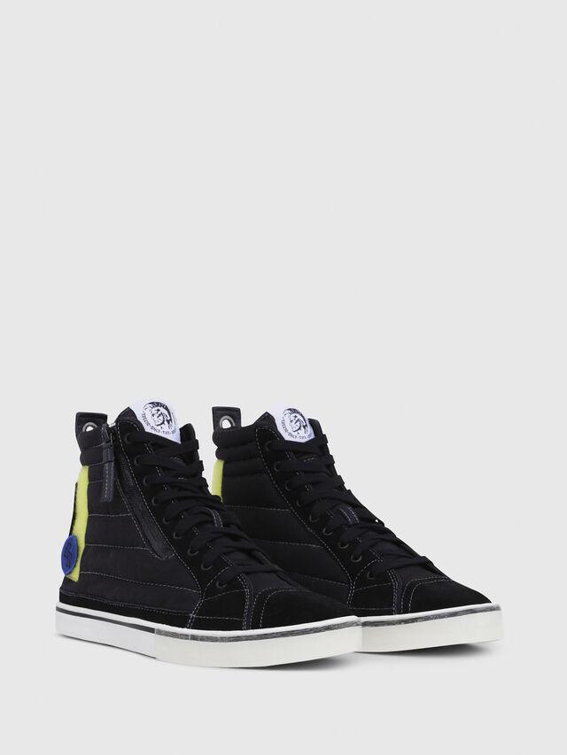Diesel - D-VELOWS MID PATCH, Black - Sneakers - Image 2