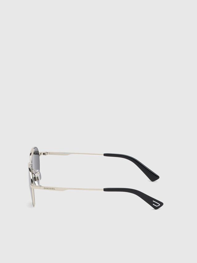Diesel - DL0291, Silver/Black - Kid Eyewear - Image 3