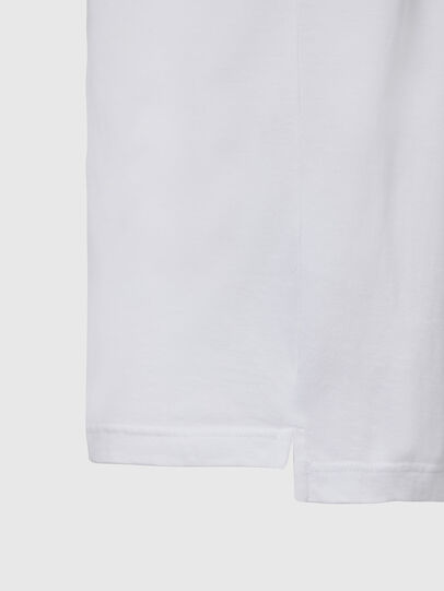 Diesel - T-JUST-SLITS-X85, White - T-Shirts - Image 4