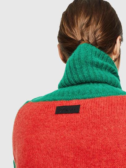 Diesel - M-PERSIA, Green/Red - Knitwear - Image 6