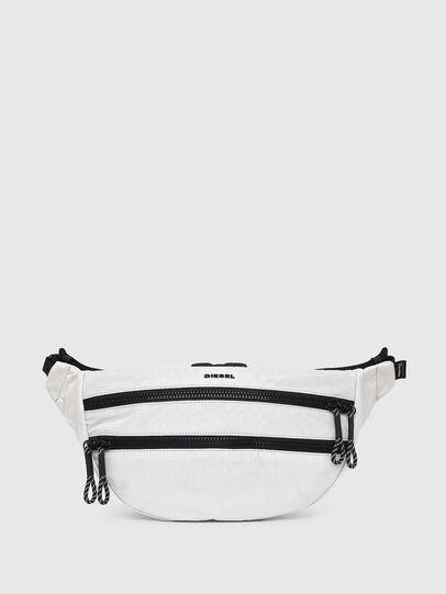Diesel - F-URBHANITY BUMBAG, White - Belt bags - Image 1