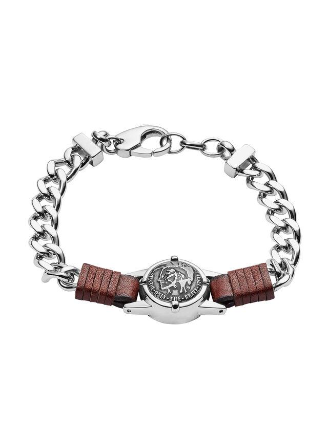 Diesel - BRACELET DX1052, Silver - Bracelets - Image 1