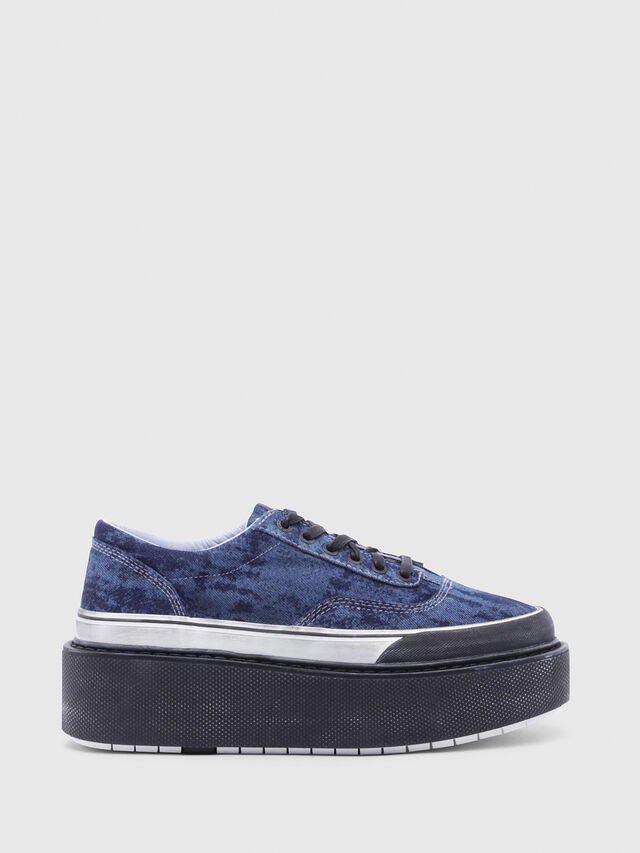 Diesel - H-SCIROCCO LOW, Blue - Sneakers - Image 1