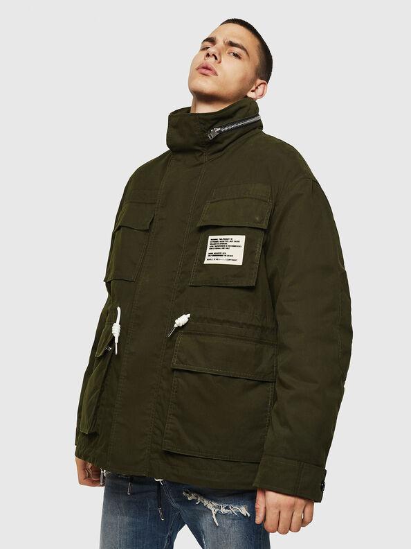 J-TOUCHIN, Military Green - Jackets
