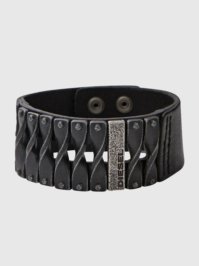 Diesel - DXM579, Black - Bracelets - Image 1