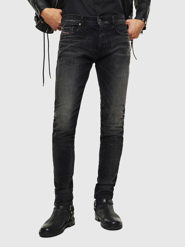 Tepphar 0098B, Black/Dark grey - Jeans