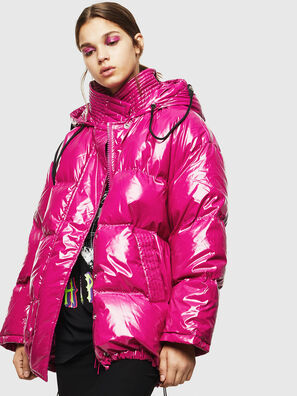 W-ALLA, Pink Fluo - Winter Jackets
