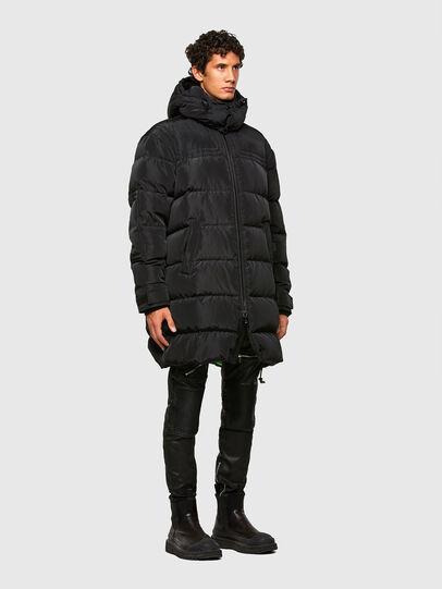Diesel - W-RUSSELL-LONG, Black - Winter Jackets - Image 7