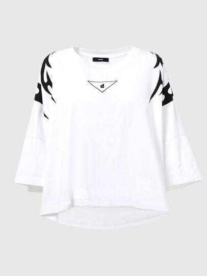 Diesel - T-CRAMBLE-E80, White - T-Shirts - Image 1