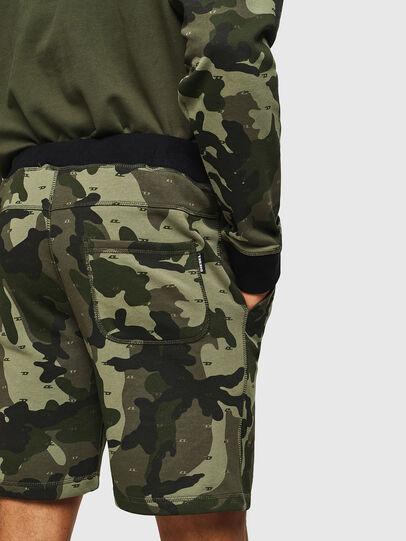 Diesel - UMLB-PAN, Green Camouflage - Pants - Image 3