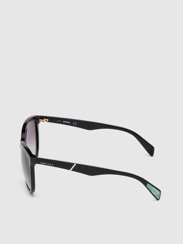 Diesel - DL0221, Black - Sunglasses - Image 3