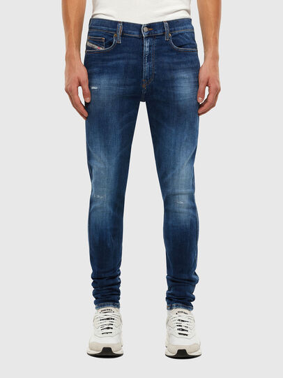 Diesel - D-Istort 009CX, Medium blue - Jeans - Image 1