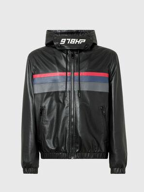L-CIRCLE, Black - Leather jackets