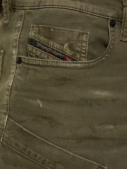 Diesel - D-Azzer JoggJeans® 069NF, Military Green - Jeans - Image 3