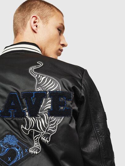 Diesel - L-KHARKOV,  - Leather jackets - Image 6
