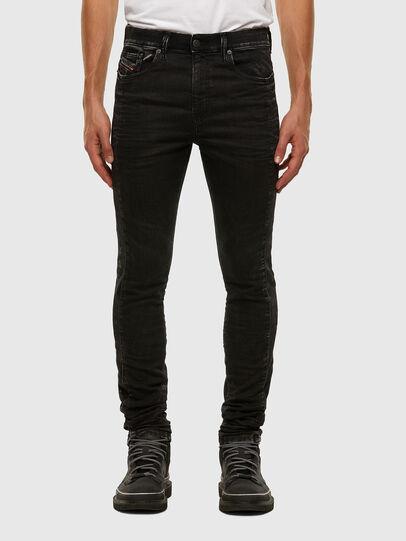 Diesel - D-REEFT JoggJeans® 009FY, Black/Dark grey - Jeans - Image 1