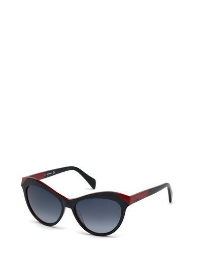 Diesel - DL0225, Black - Sunglasses - Image 4