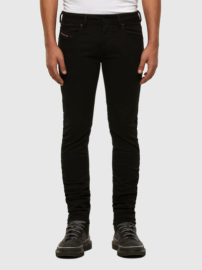 Diesel - Sleenker 069EI, Black/Dark grey - Jeans - Image 1