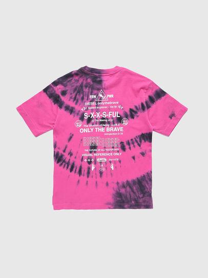 Diesel - TJUSTSLITSX86 OVER, Pink - T-shirts and Tops - Image 2