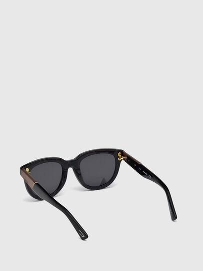 Diesel - DL0228, Black - Sunglasses - Image 4