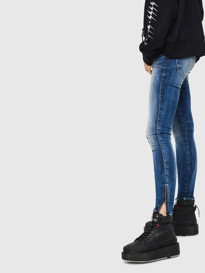 Diesel - Slandy Low 0095C, Medium blue - Jeans - Image 2