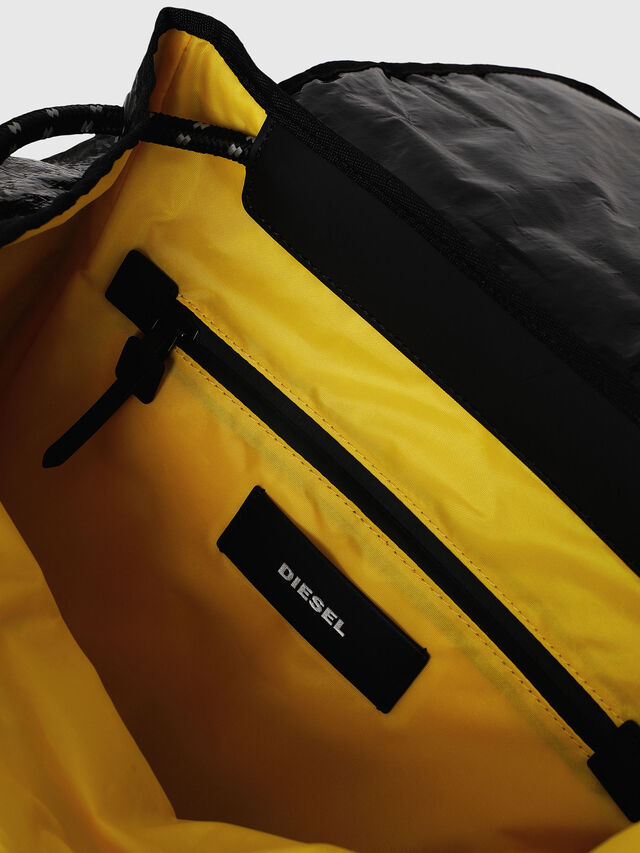 Diesel - M-CAGE BACK, Black - Backpacks - Image 5