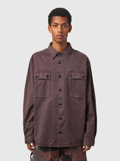 Diesel - S-HOBART, Violet - Shirts - Image 1