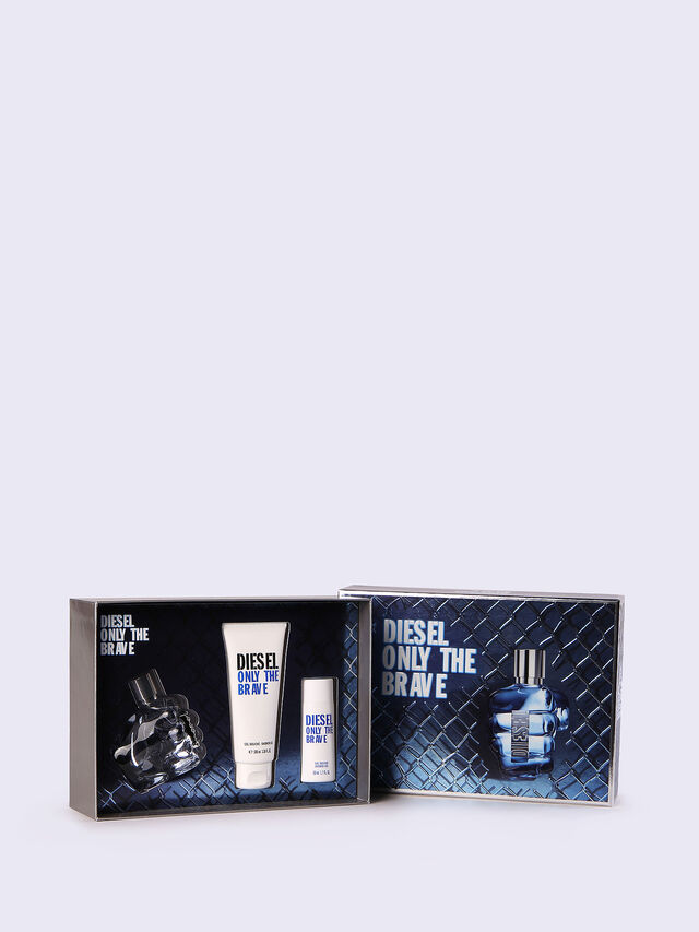 Diesel ONLY THE BRAVE 50ML GIFT SET, Blue - Only The Brave - Image 1