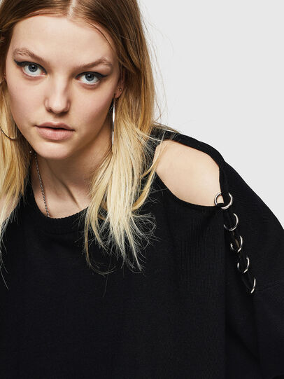 Diesel - M-NETTY, Black - Knitwear - Image 3