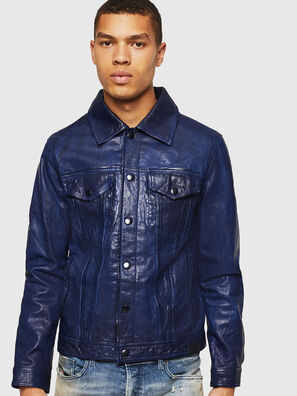 L-NHILL, Blue - Leather jackets