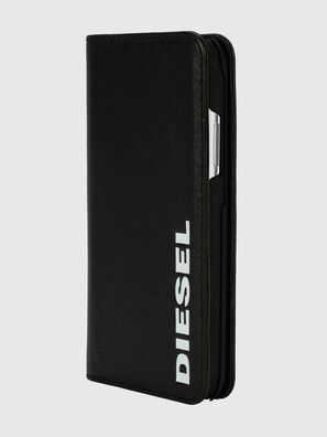 DIESEL 2-IN-1 FOLIO CASE FOR IPHONE XS & IPHONE X, Black/White - Flip covers
