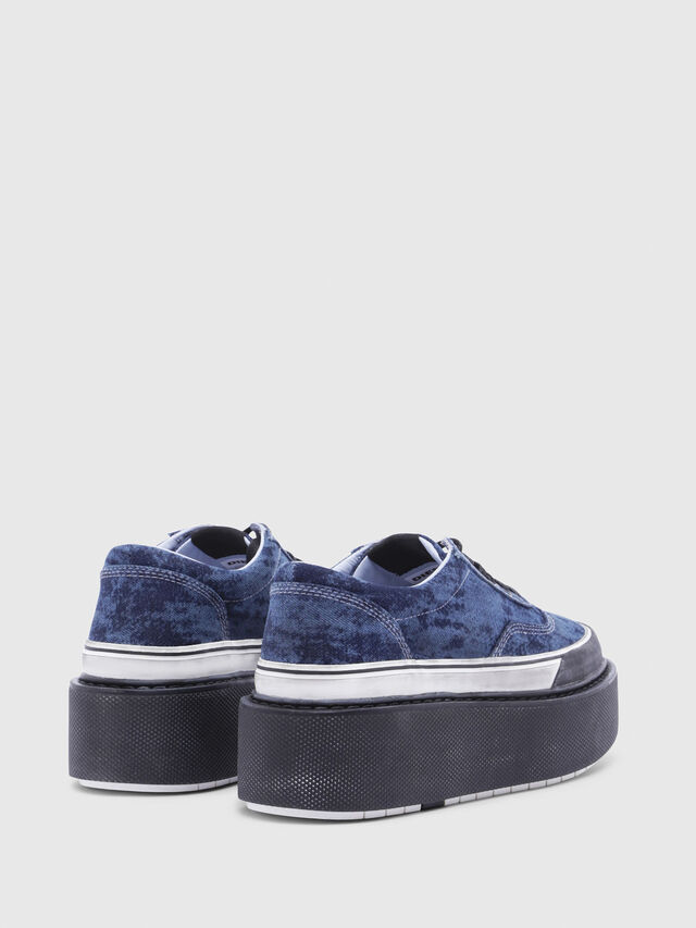 Diesel - H-SCIROCCO LOW, Blue - Sneakers - Image 3