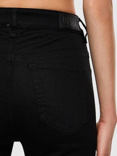 Diesel - Slandy High 069EF, Black/Dark grey - Jeans - Image 4