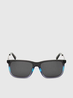 DL0309, Black/Blue - Sunglasses