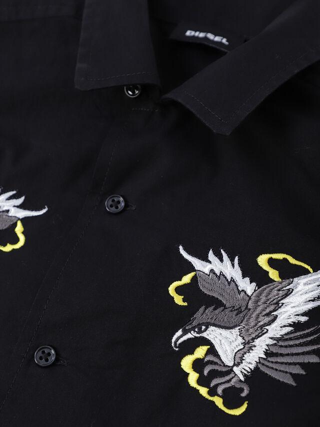 Diesel - CSEAGLE, Black - Shirts - Image 3