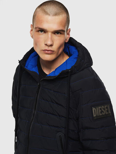 Diesel - W-OBLOSKY, Black - Winter Jackets - Image 3