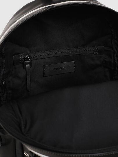 Diesel - ESTE, Black/White - Backpacks - Image 5