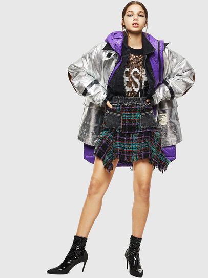 Diesel - O-BRYEL, Multicolor - Skirts - Image 6