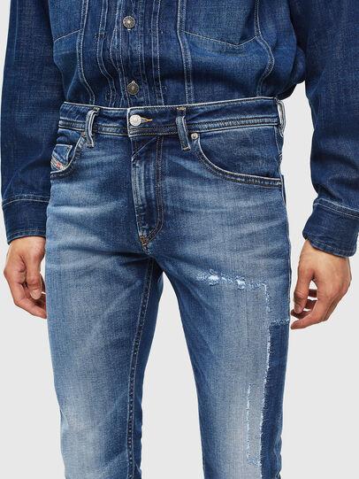 Diesel - Thommer 0097W, Dark Blue - Jeans - Image 5