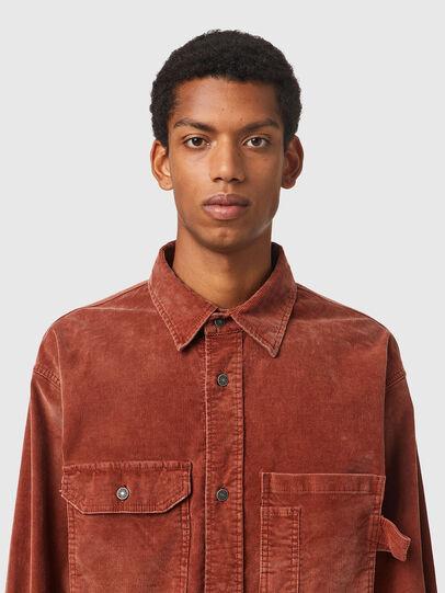 Diesel - S-BUN-CORD, Brown - Shirts - Image 3