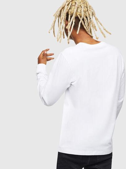 Diesel - T-DIEGO-LS-J1, White - T-Shirts - Image 2