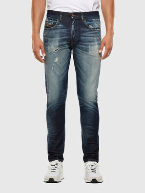 D-Strukt 0092I, Dark Blue - Jeans